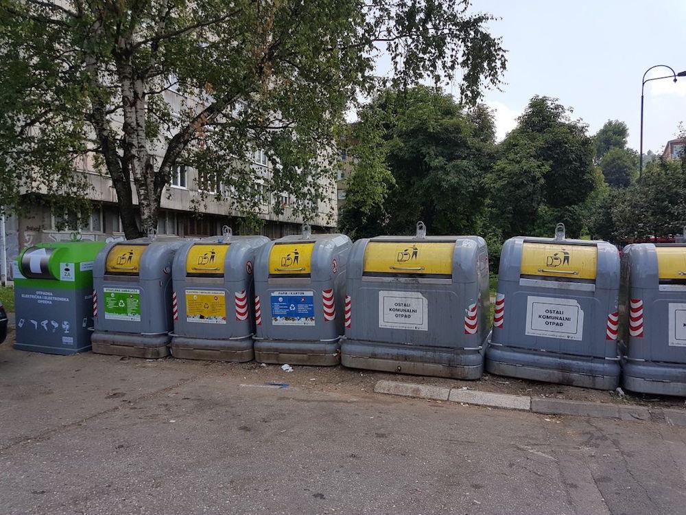 ZEOS eko-sistem: Postavljeni novi kontejneri za e-otpad u Kantonu Sarajevo