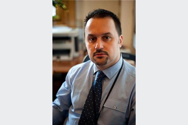 Almir Salihović, šef ureda guvernera Centralne banke BiH