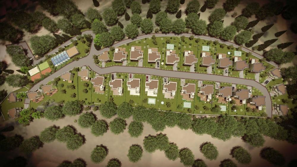 Izgled budućeg naselja Golden Hills