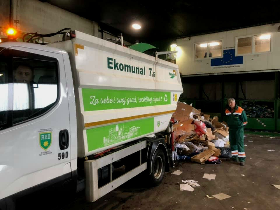 Prvo sarajevsko reciklažno dvorište: Slab odziv građana za besplatnim odlaganjem