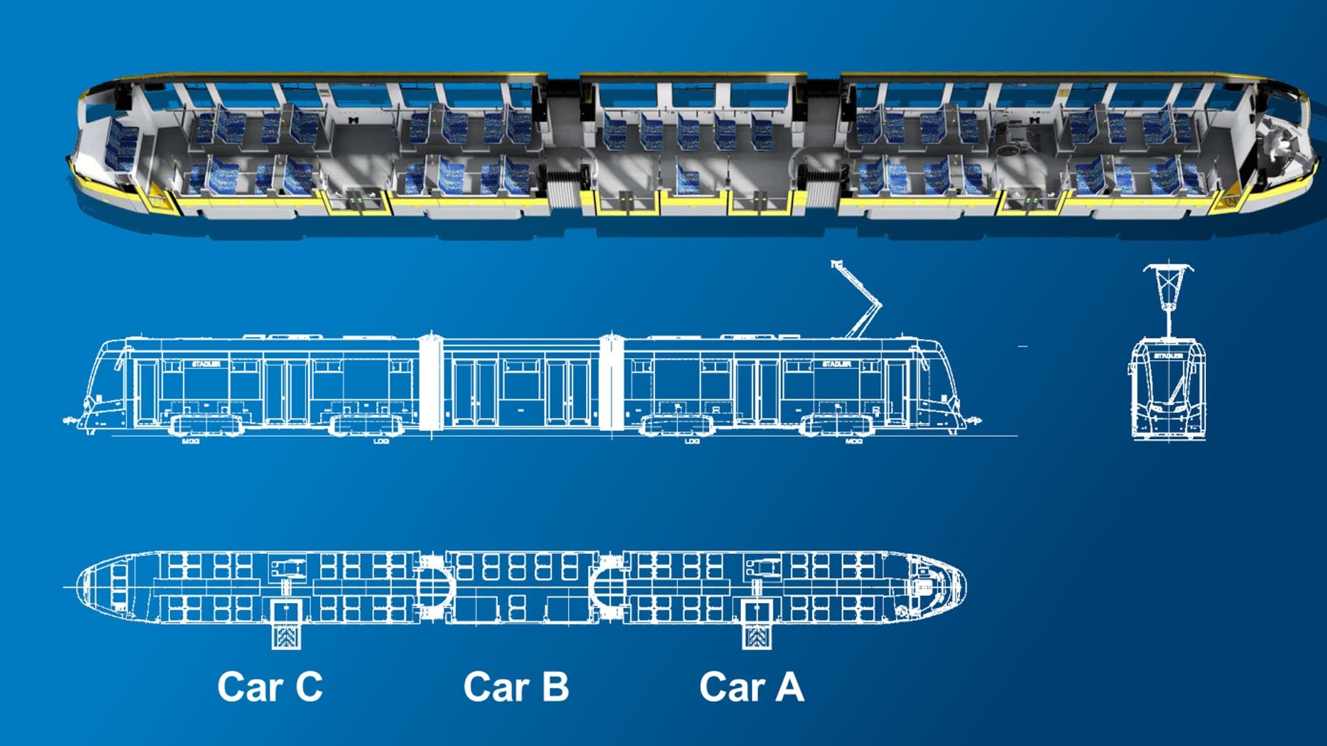 Sarajevo dobija 15 modernih niskopodnih Stadler tramvaja: Evo kako će izgledati