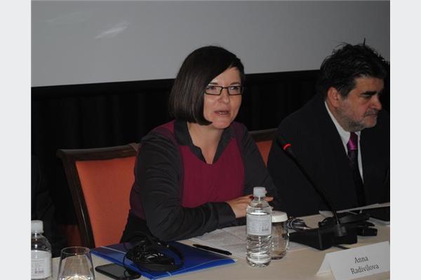 Ana Radivilova iz političkog odjela Veleposlanstva SAD-a i Nerzuk Ćurak iz Atlantske inicijative