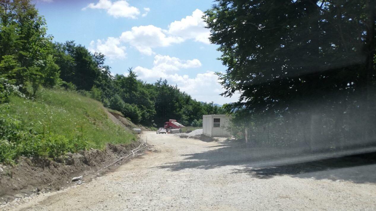 U toku radovi na sanaciji, rekonstrukciji i zaštiti puta Babin Do - Šabići