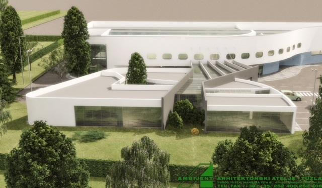 Pogledajte izgled budućeg atrija Međunarodnog aerodroma Tuzla