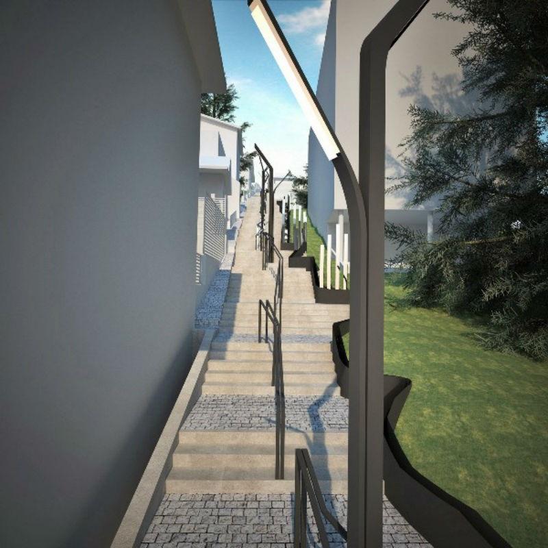 Stepenište u Ulici Mice Todorović posvećeno umjetnosti
