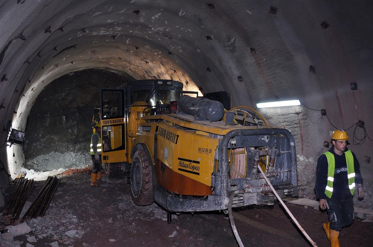 Iskopano više od kilometra tunelske cijevi tunela Hranjen