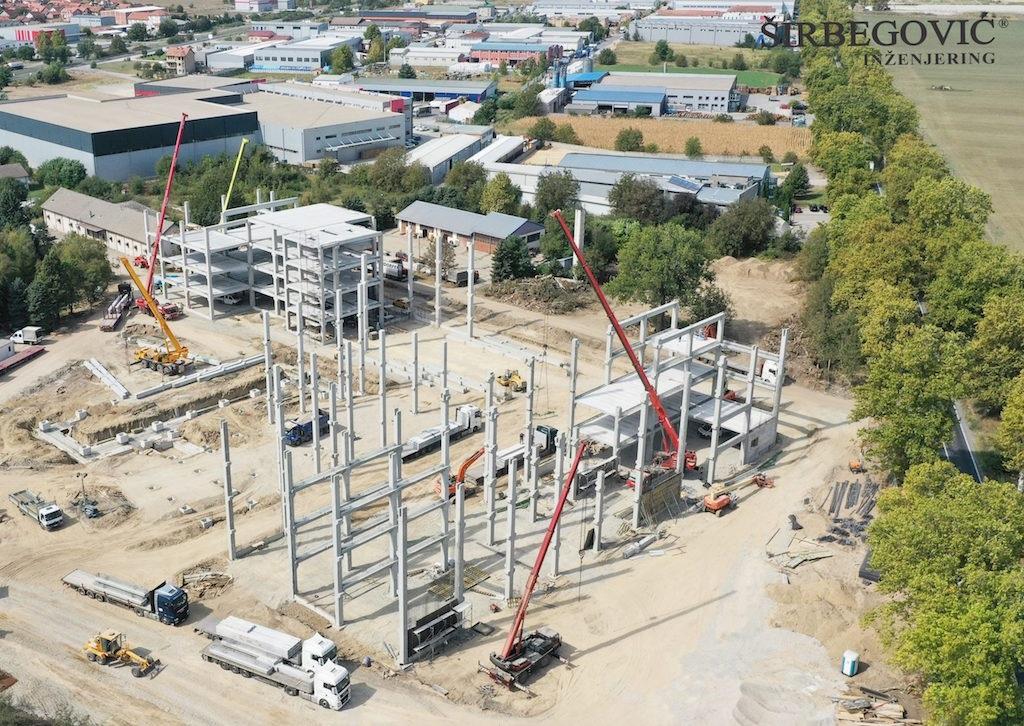 Širbegović - AB montažna konstrukcija za COVID bolnicu u Beogradu