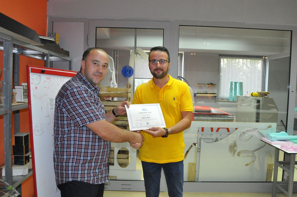 Na IUS-u završena obuka za CNC operatera/programera