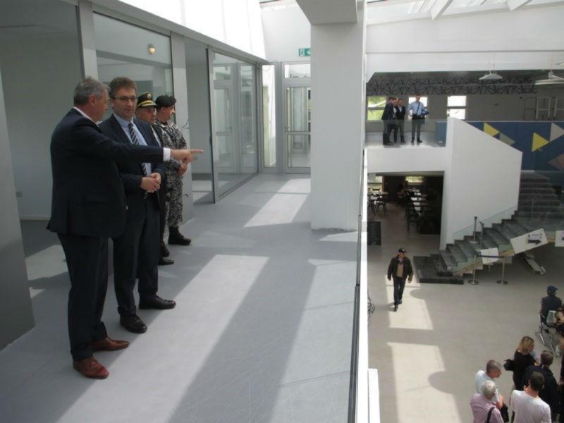 Vlada TK posjetila novi putnički terminal Međunarodnog aerodroma Tuzla