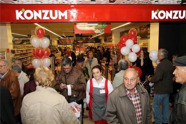 U SCC otvorena Konzum maxi prodavnica
