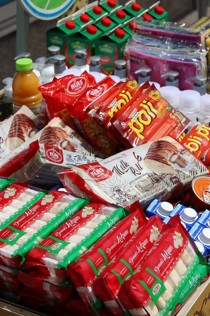 Stotinu jedanaesta Hoše 'BH. korpa': Bony Breskvica dijelila kupcima domaće proizvode