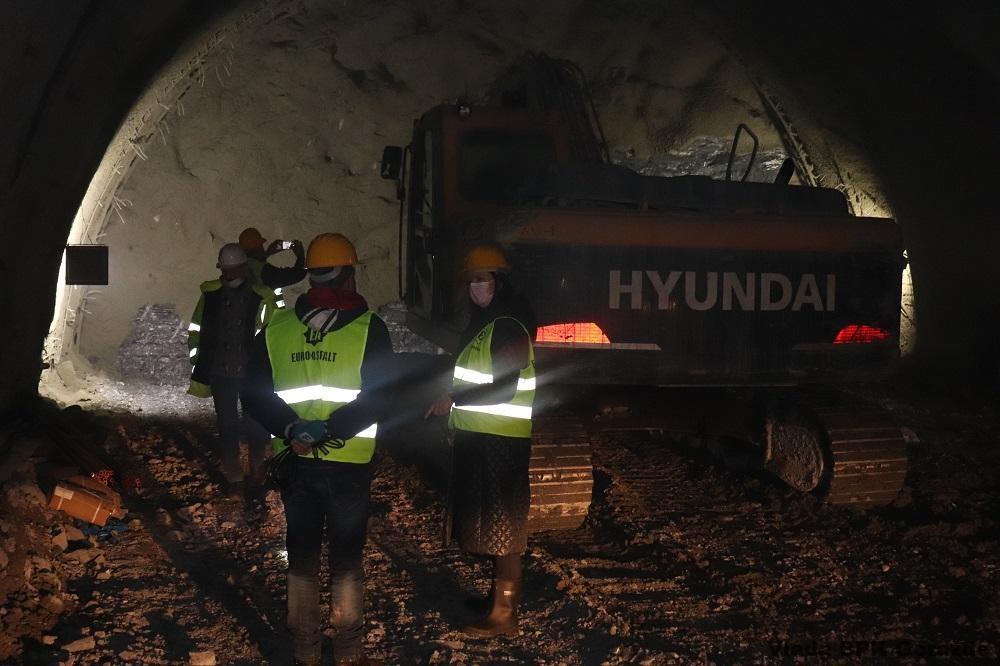 Iskopan 1.741 metar tunela Hranjen