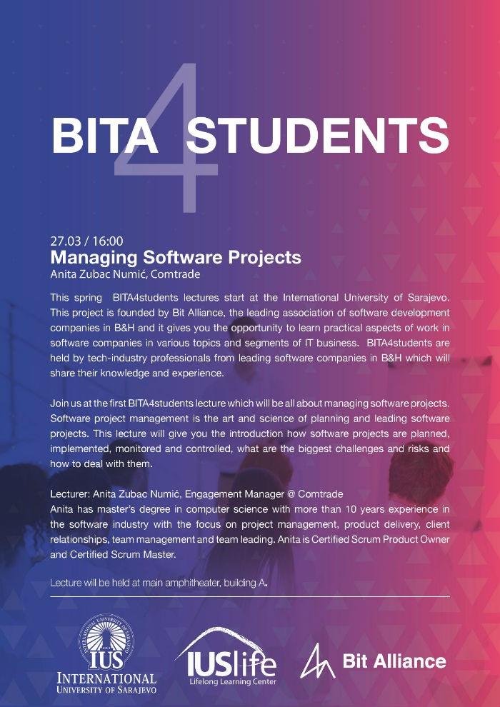 Predavanje BITA4Students u IUS Life centaru za čjeloživotno učenje