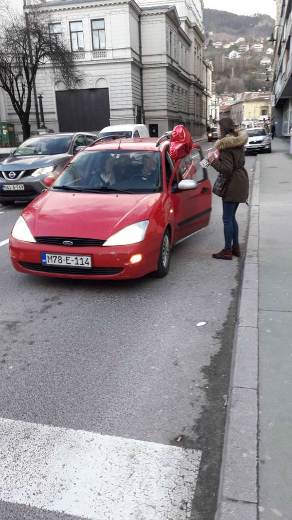 Crvena srca na Ford vozilima zabilježena u Sarajevu