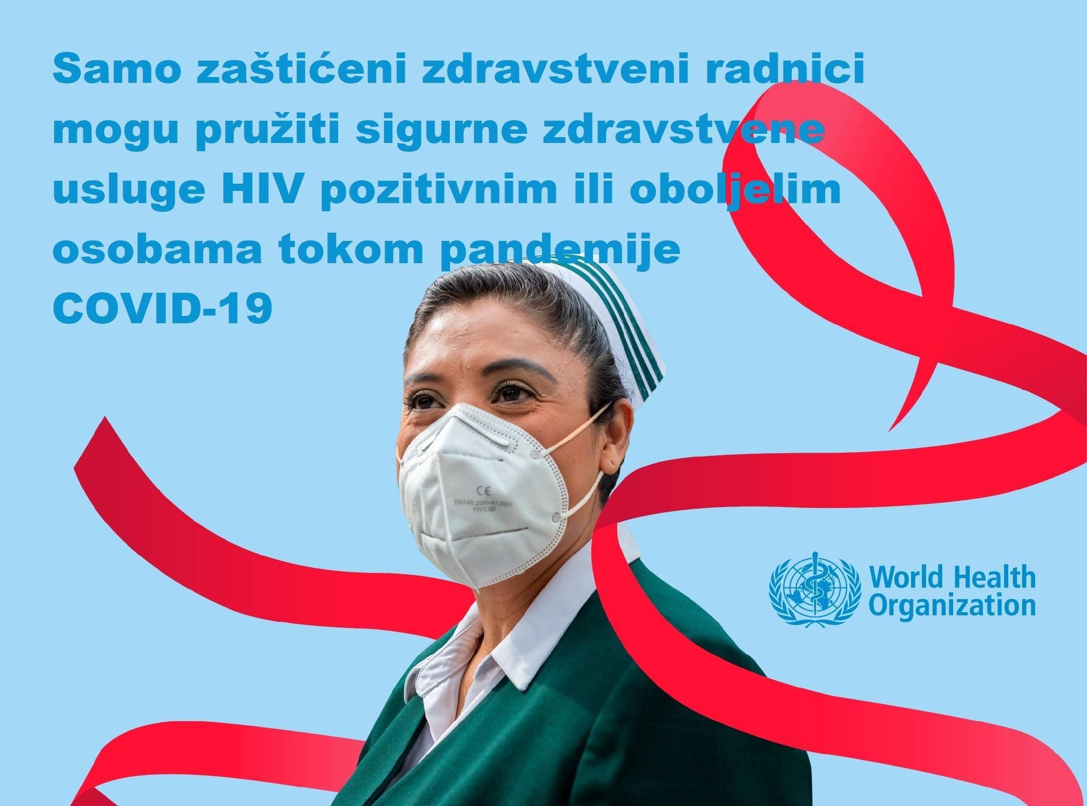 1.12. Svjetski dan borbe protiv AIDS-a još značajniji tokom COVID-19 pandemije