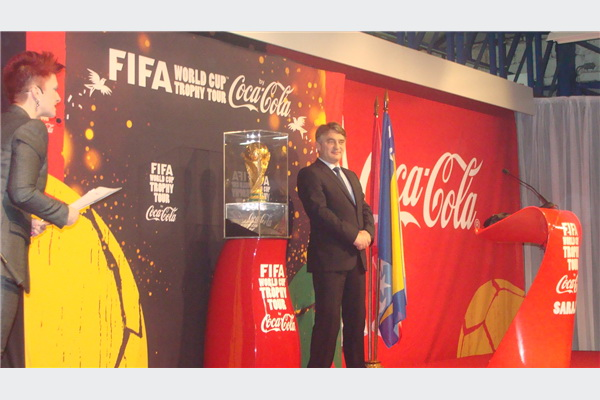 FIFA trofej Svjetskog fudbalskog prvenstva stigao u Sarajevo