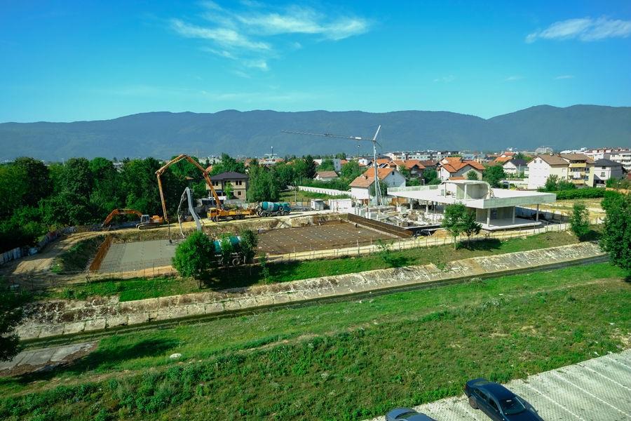 Veliki radovi: Na gradilištu bazena Dobrinja ugrađeno 850 kubika betona