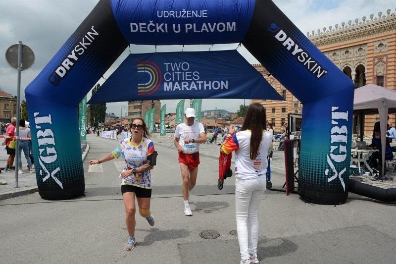 Osman Junuzović i Katarina Pohlod pobjednici međunarodnog maratona 'Dva grada'