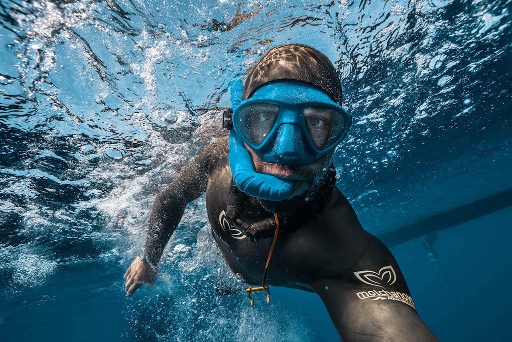 Svjetski broj 1 u ronjenju ambasador kampanje za zaštitu morskih pasa