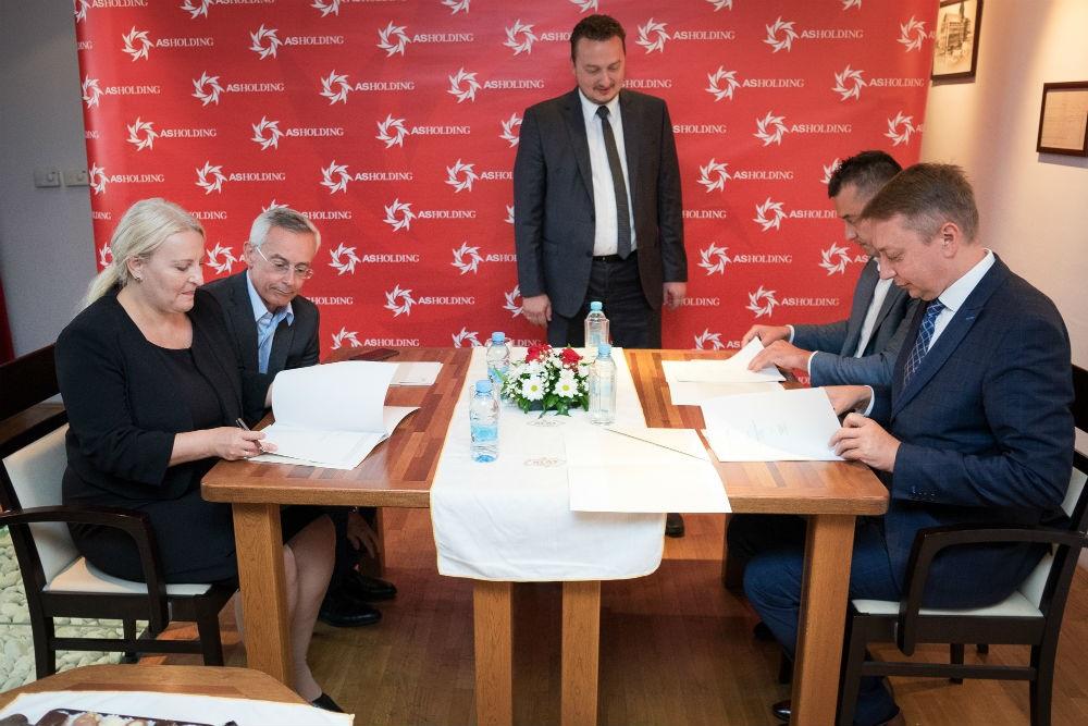 Članovi Uprave Austrijske razvojne banke u posjeti AS Holdingu