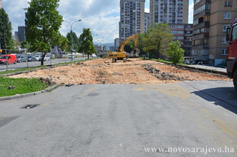 Počela gradnja javne kolektivne garaže u Sarajevu (VIDEO)