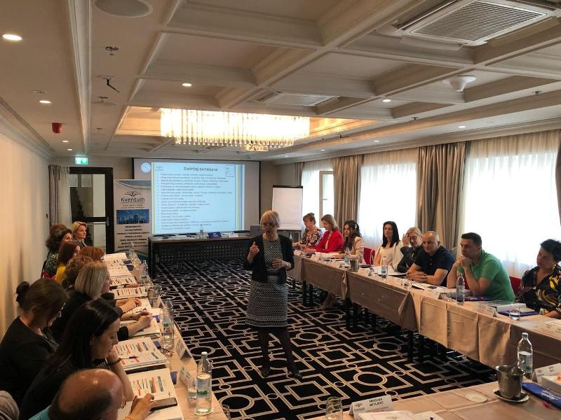 Kventum uspješno realizovao seminare u Baškoj vodi