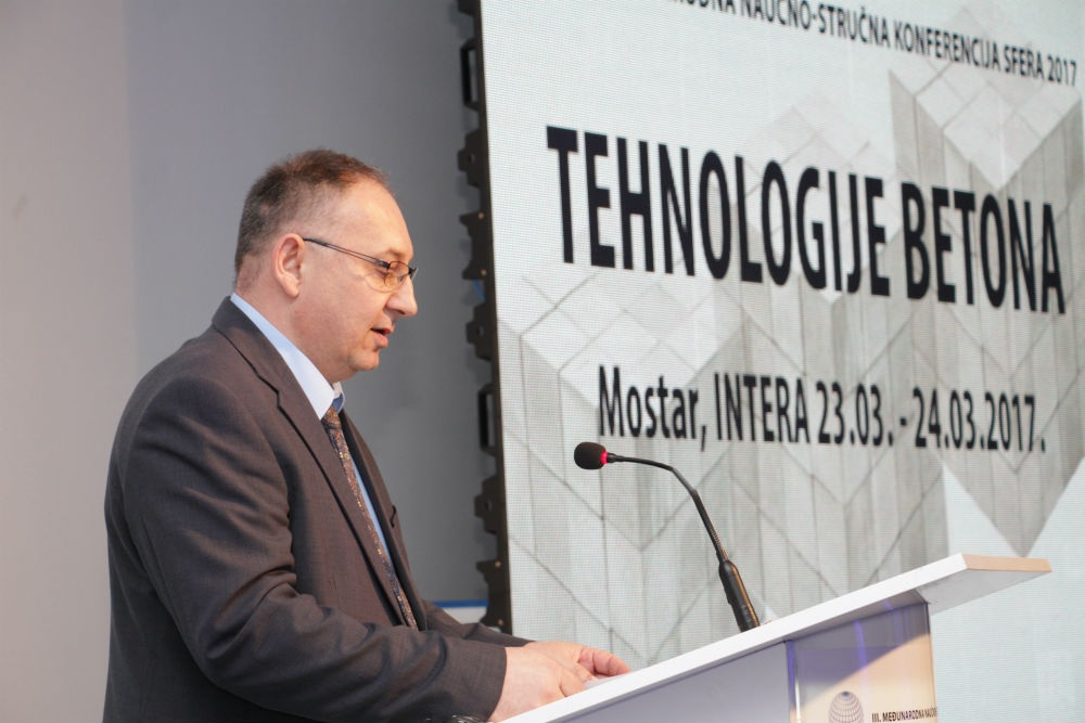 U Sarajevu VII Međunarodna naučno stručna konferencija 'Tehnologija betona'