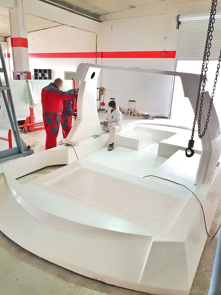'Derubis Yachts' iz Viteza pravi novu luksuznu jahtu od pola miliona eura