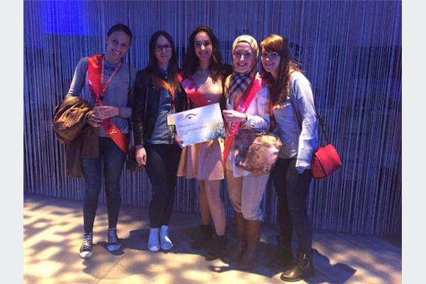 INTERA TP na 1st European Celebration of Women in Computing konferenciji