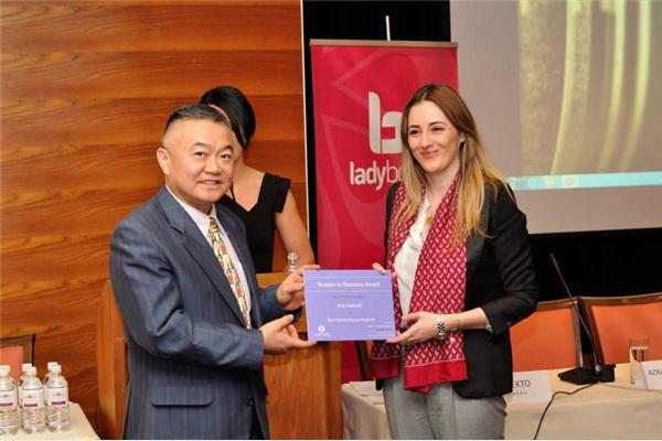 Za mentoring program nagradu je dobila Aida Hadžalić iz kompanije TBA:Pro