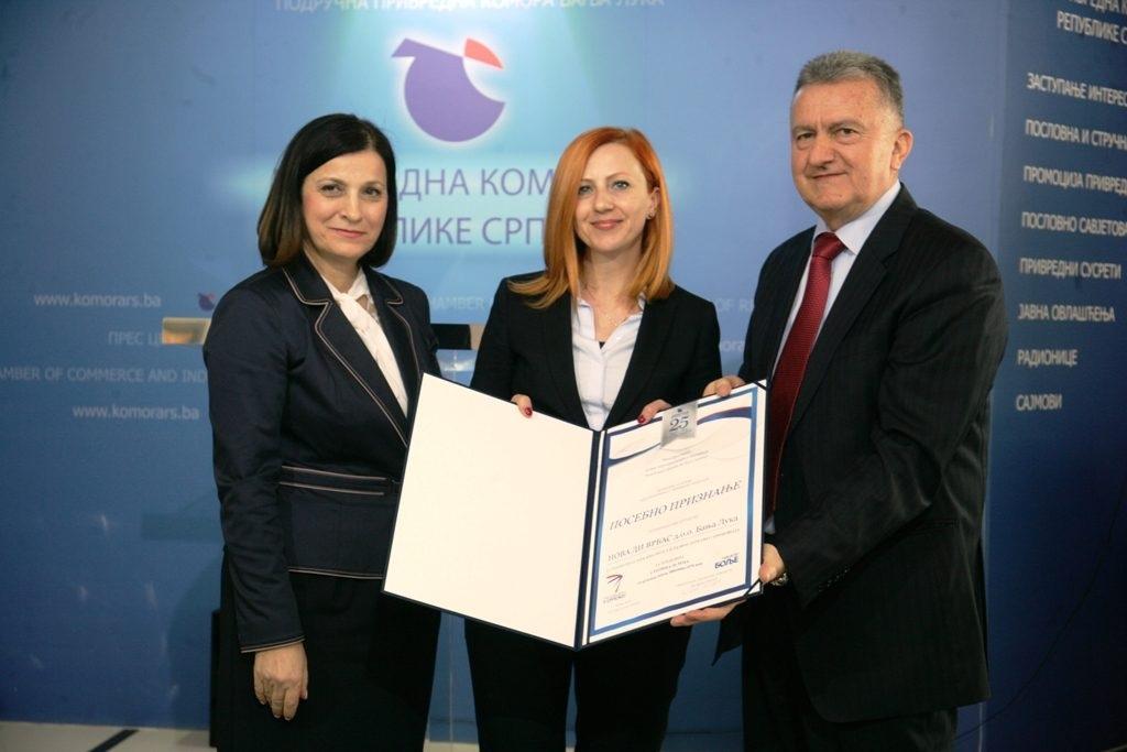 Održan Izbor najuspješnijih u privredi Republike Srpske