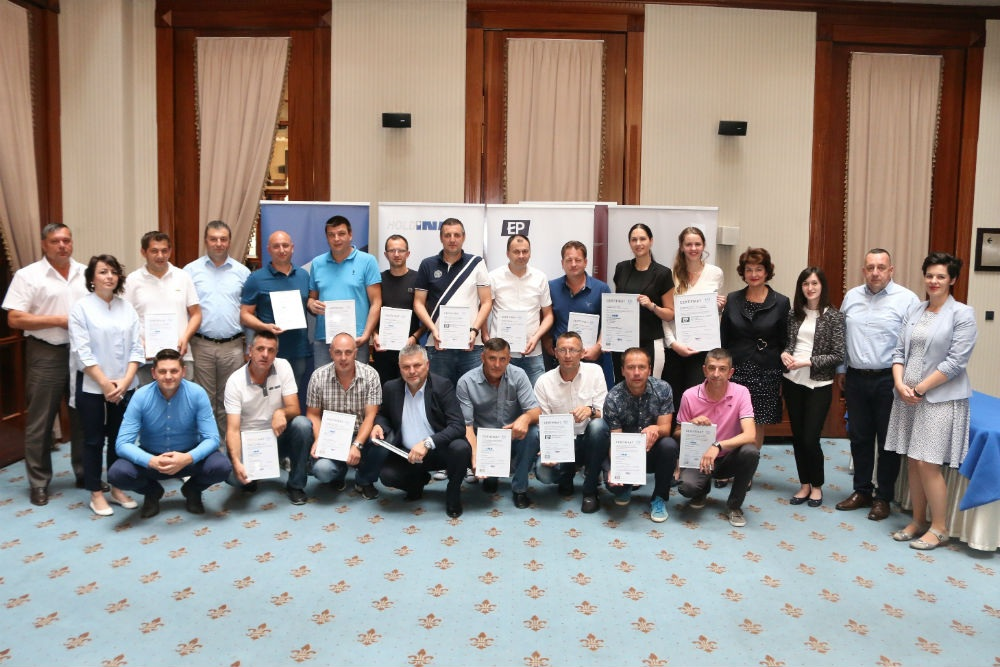 Holdini i Energopetrolu uručeni certifikati za HACCP sistem upravljanja