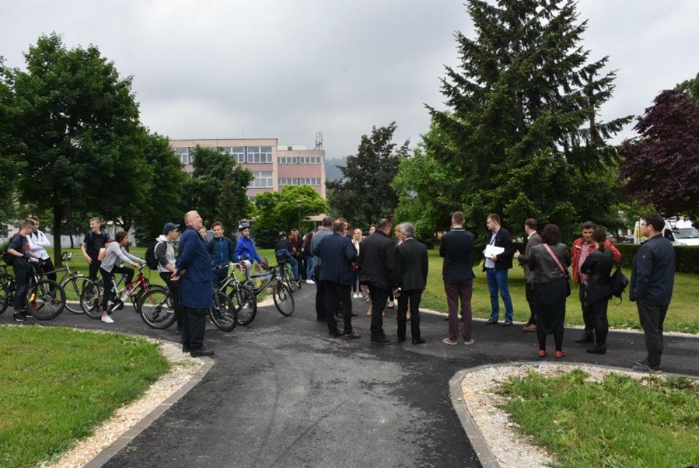 Završena izgradnja prve faze biciklističke staze u Alipašinoj ulici