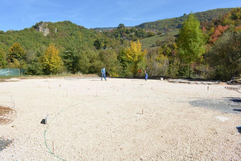 Počinje betoniranje podloge za Park mira na Darivi