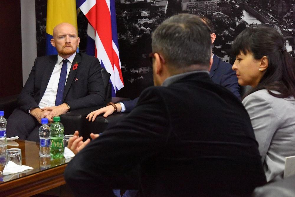 Britanski ambasador posjetio Internacionalni Burch univerzitet