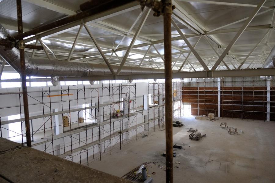 Privode se kraju radovi na fasadi sportske dvorane uz školu 'Umihana Čuvidina'
