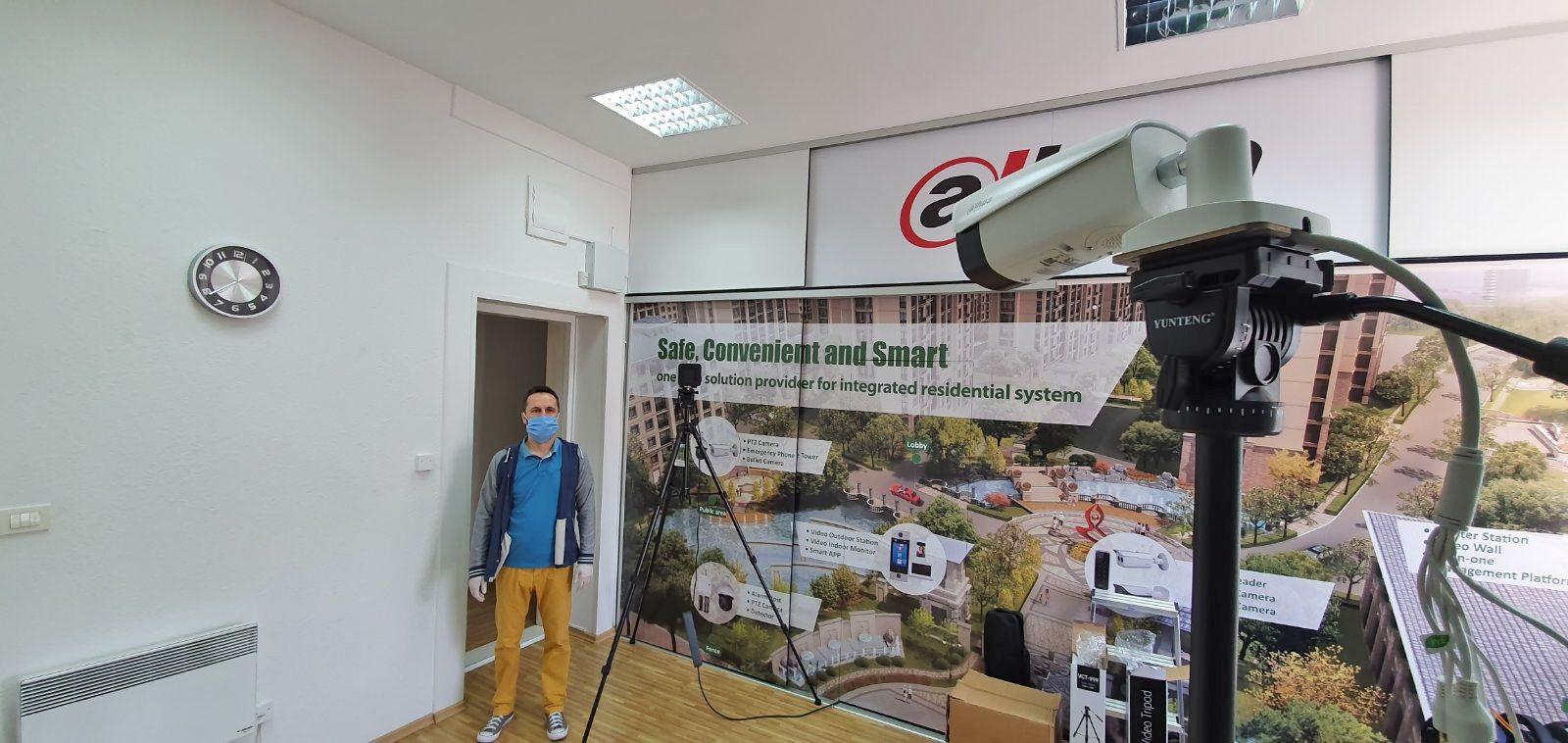 Termalne kamere za beskontaktno mjerenje temperature stigle u BiH
