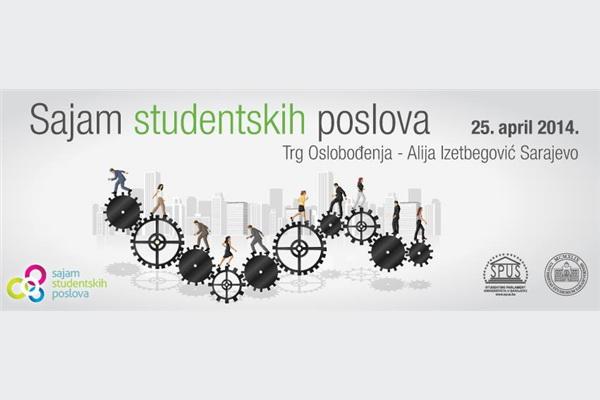 Drugi sajam studentskih poslova u petak na trgu Alije Izetbegovića