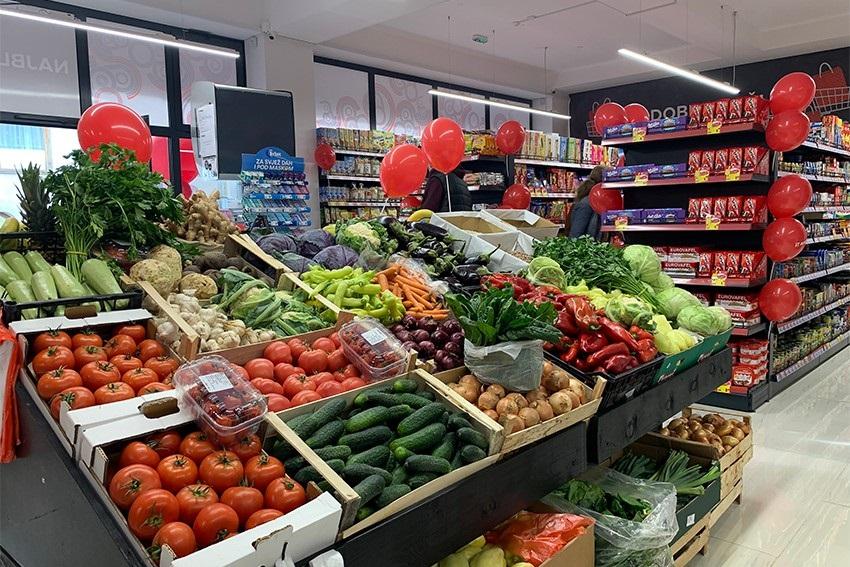 Otvoren 83. supermarket Amko komerc