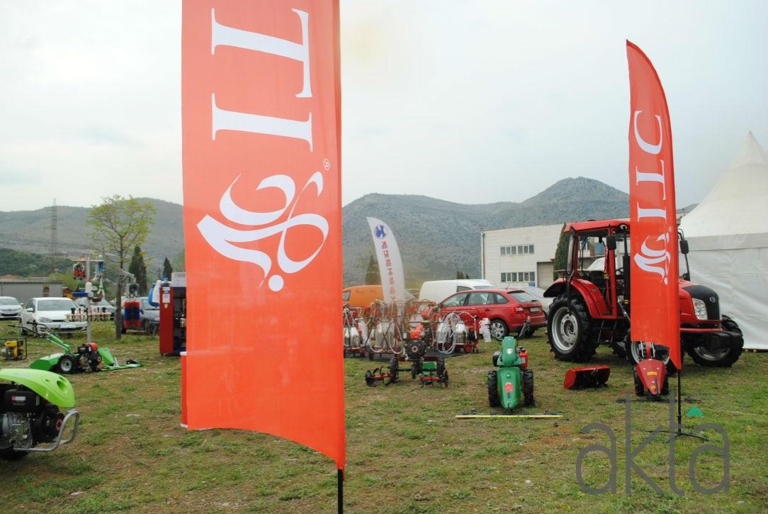 ITC Zenica predstavlja na sajmu u Mostaru novi traktor KIOTI