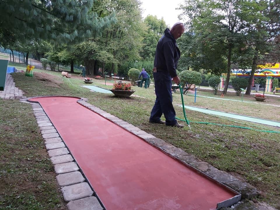 Novi sadržaji u Pionirskoj dolini: Sarajevska oaza dobija teren za mini-golf