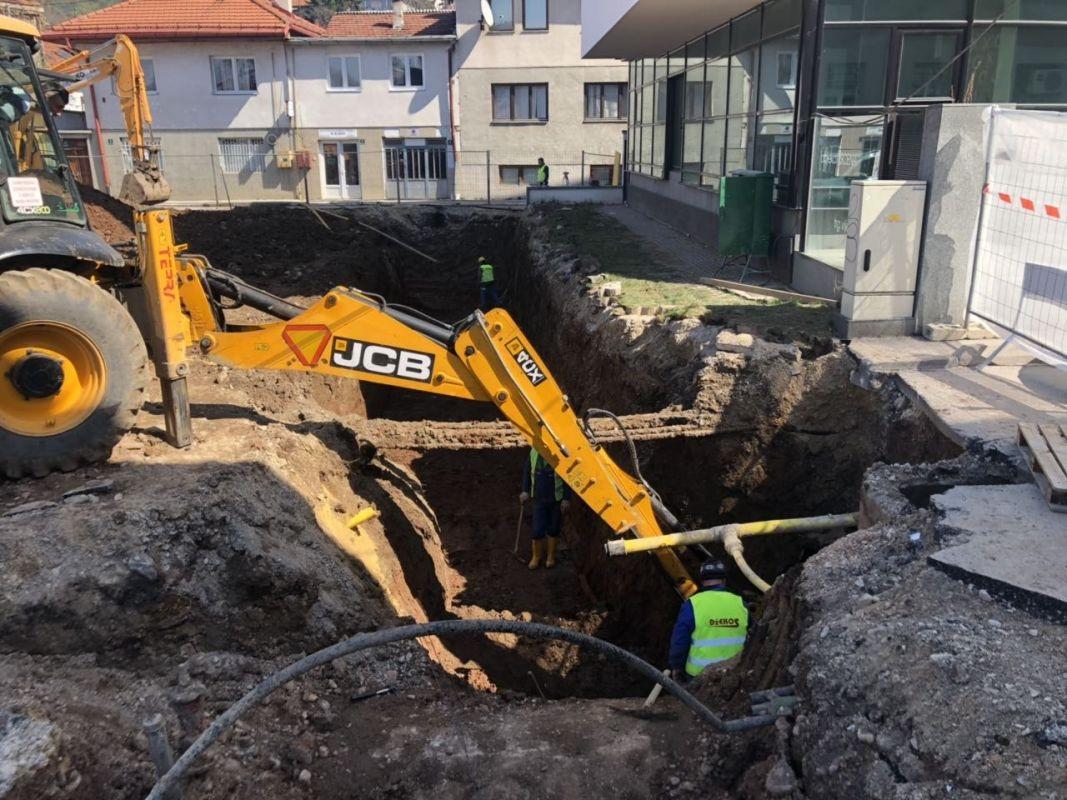 Počinju radovi na izgradnji podzemne garaže u ulici Avdage Šahinagić