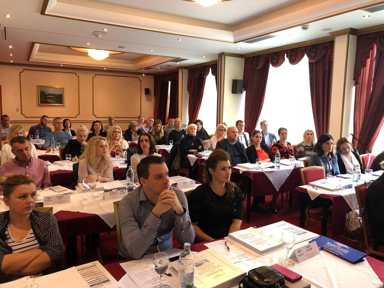 Kventum uspješno realizovao trodnevni seminar iz javnih nabavki