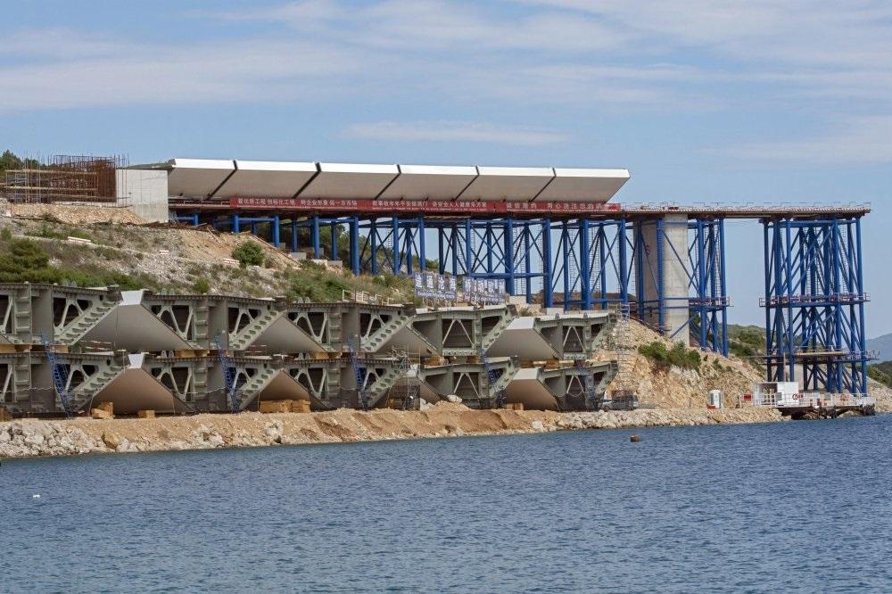 Na gradilištu Pelješkog mosta: Moguće produženje roka za nekoliko mjeseci