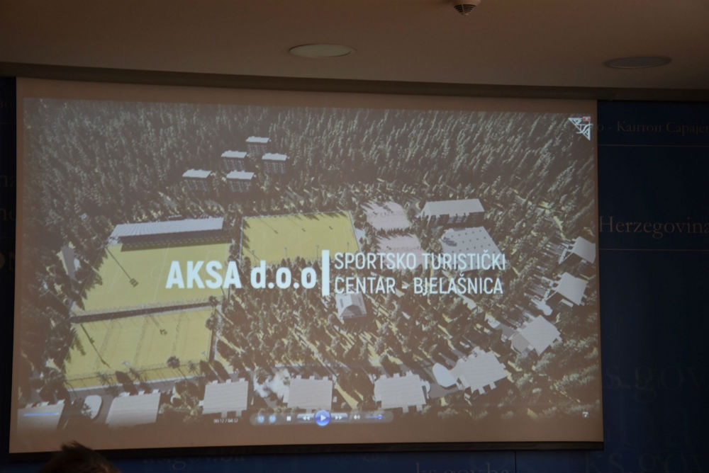 Počinje izgradnja Poslovno-sportskog centra Trnovo vrijednog skoro 17 miliona KM