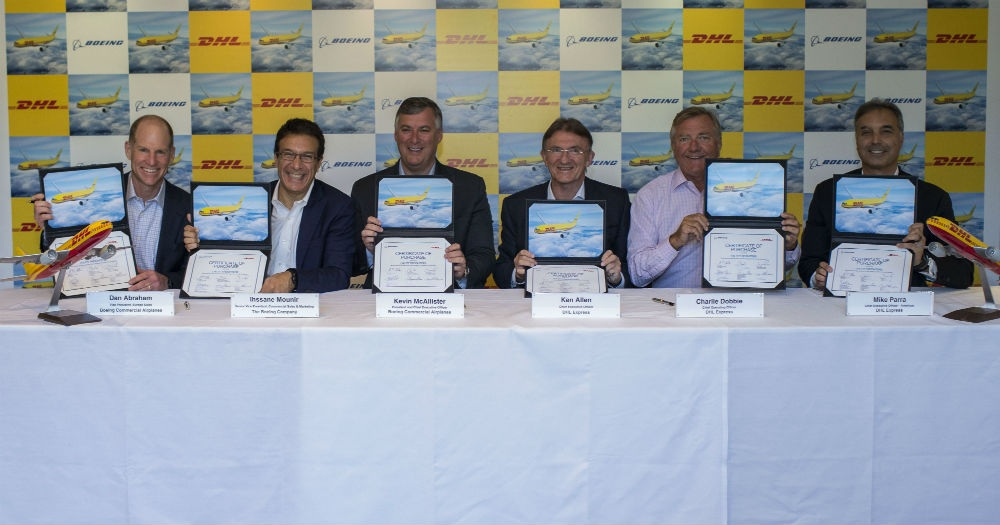 DHL Express ojačava mrežu narudžbom 14 novih Boeing 777 Freighter aviona