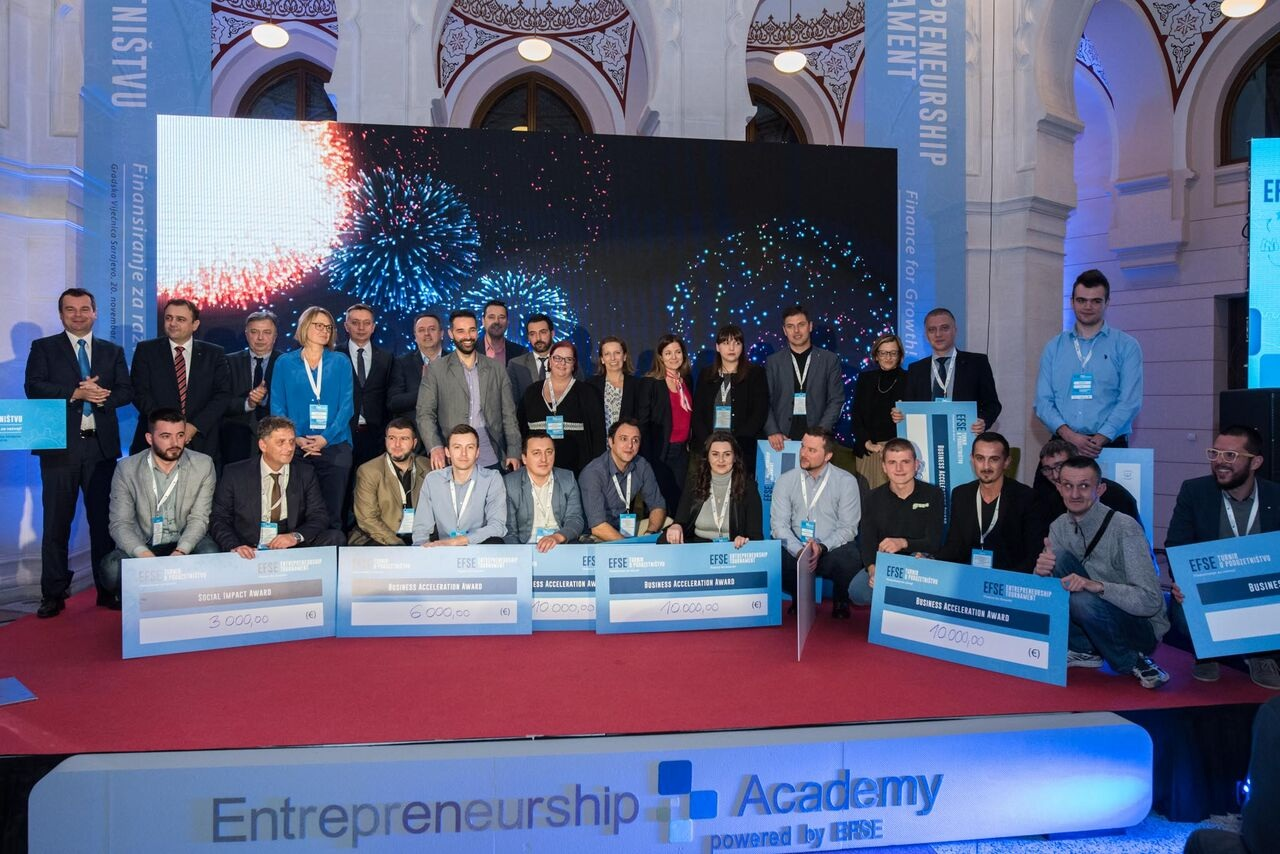 EFSE Poduzetnička Akademija sa 10.000 eura podržala šest malih biznisa
