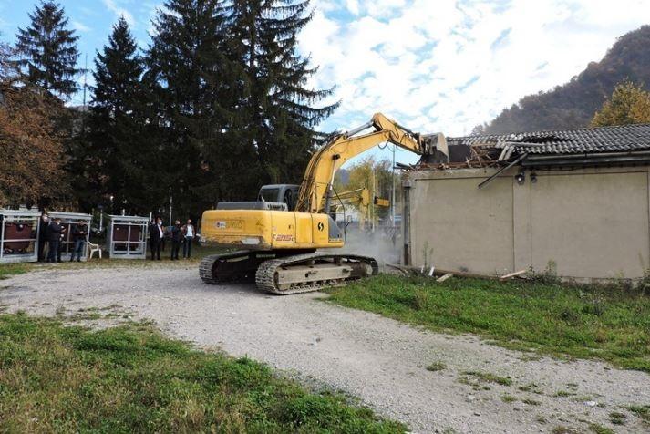 Centar Jablanice dobit će moderno uređeni trg, počelo uređenje lokacije