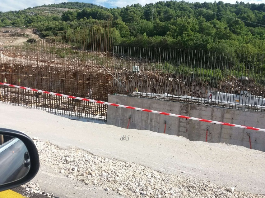 Pogledajte kako se odvija gradnja Pelješkog mosta