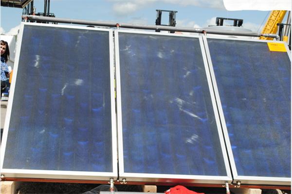 Solarni kolektori za zagrijavanje vode iz Mikoma na Sajmu u Gračanici